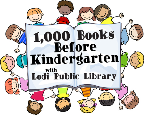 logo for 1,000 Books Before Kindergarten
