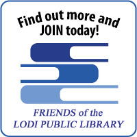 Friends of the Lodi Public Library button