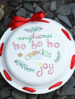 decorative paper plate