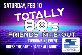 Totally 80s friends night out