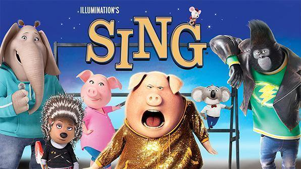 animated characters from SING movie