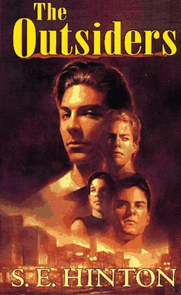 cover of The Outsiders by SE Hinton