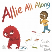 Book cover of Allie All Along by Sarah Lynne Reul