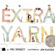 Book cover of Extra Yarn by Mac Barnett