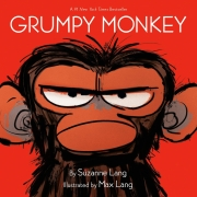 Book cover of Grumpy Monkey by Suzanne Lang