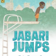Book cover of Jabari Jumps by Gaia Cornwall