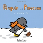 Book cover of Penguine and Pinecone by Salina Yoon