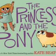 Book cover of The Princess and the Pony