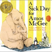 Book cover of A Sick Day for Amos McGee by Philip C. Stead