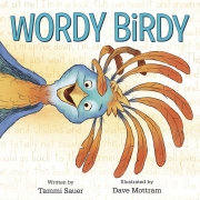 Book cover of Wordy Birdy