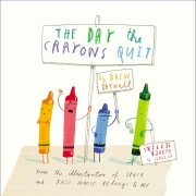 Book cover of The Day the Crayons Quit