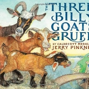 Book cover of The Three Billy Goats Gruff by Jerry Pinkney