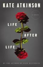 cover of book Life after Life with 2 roses