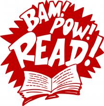 Bam! Pow! READ!