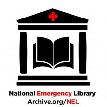 logo for internet archive's national emergency library
