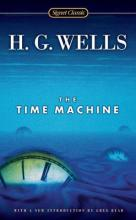 cover of the book the time machine by HG Wells
