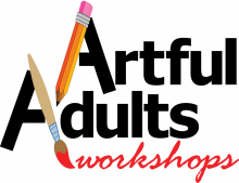 Artful Adults workshop logo