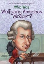 """cover of """"Who was Wolfgang Amadeus Mozart?"""" by Yonda Zeldis McDonough"""