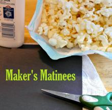 popcorn and craft supplies
